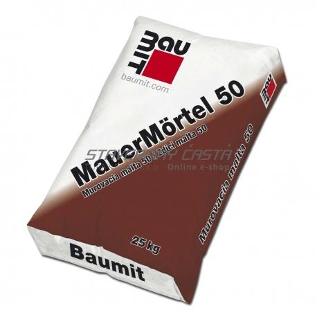 Baumit Murovacia malta 50 | MauerMörtel 50 25kg