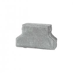 Premac dlažba Haka polovička 16,5x10 cm sivá