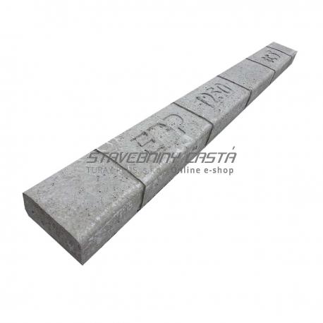 Betónový preklad 125x12x6,5 cm