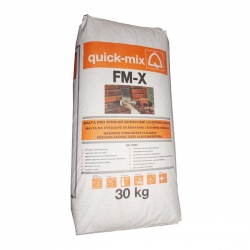 Škárovacia hmota FM-X tmavosivá 30kg