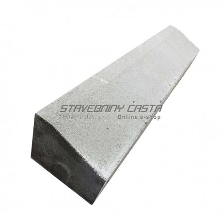 Premac Obrubník cestný 100x15(10)x20 cm nábehový | stavebniny-shop.sk