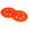 Tanierik plochý TIT 60mm oranžový
