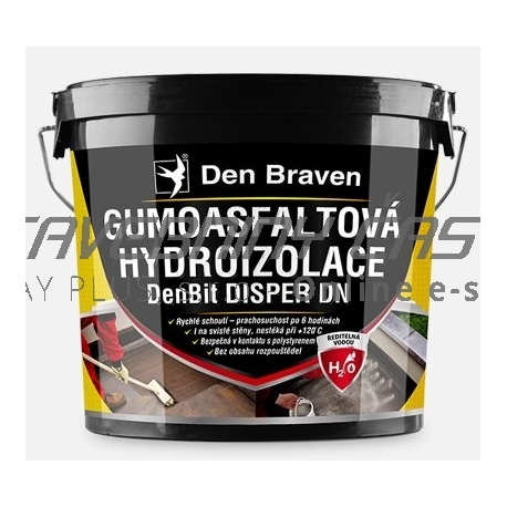 Gumoasfaltová hydroizolácia DenBit DISPER DN 5kg