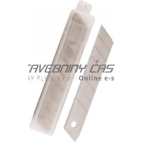 Čepele náhradné do odlamovacích nožov 18mm