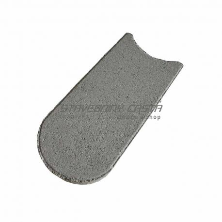 Trávnikový lem 24x12x4,5 cm sivý | Premac
