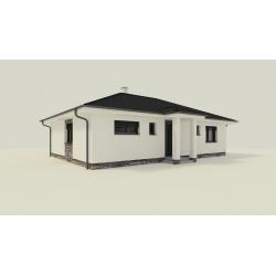 Predaj novostavby 95 m2 rodinného domu v obci Častá