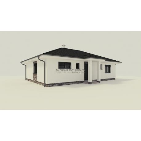 Predaj novostavby rodinného domu v obci Častá
