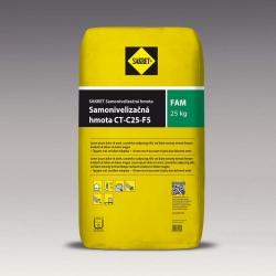 Samonivelizačná hmota na podlahy Sakret FAM 25kg