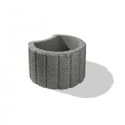 Svahová tvárnica Hangflor mini sivý 35x28x20cm | Premac