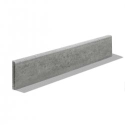 Obrubník parkový 100x20x5 cm sivý | Premac