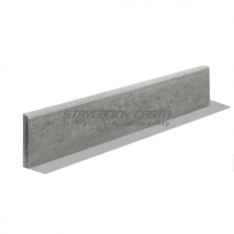 Premac Obrubník parkový 100x20x5 cm sivý | stavebniny-shop.sk