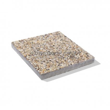 Deka z vymývaného betónu s fazou 50/50/3,8 cm | Premac