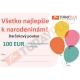 Darčekový poukaz v hodnote 100€ na kúpu stavebného materiálu