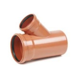 Kanalizačná odbočka 200/125/45° PVC