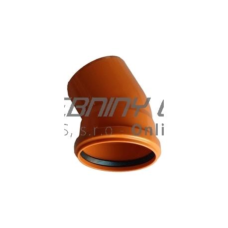 Kanalizačné koleno 110/30° PVC