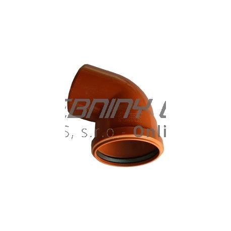 Kanalizačné koleno 110/67° PVC