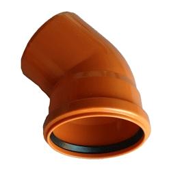 Kanalizačné koleno 140/45° PVC