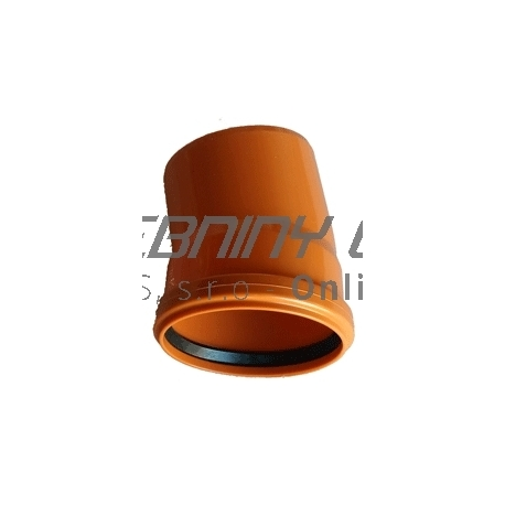 Kanalizačné koleno 160/15° PVC