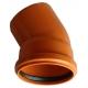 Kanalizačné koleno 200/30° PVC