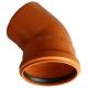 Kanalizačné koleno 200/45° PVC