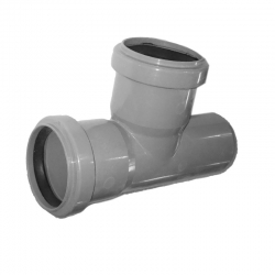 Kanalizačná odbočka 40/40/87° HT PP odpad