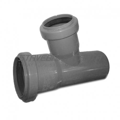 Kanalizačná odbočka 50/50/67° HT PP odpad