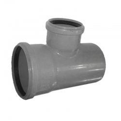 Kanalizačná odbočka 75/50/87° HT PP odpad