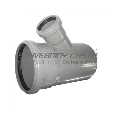 Kanalizačná odbočka 110/50/45° HT PP odpad