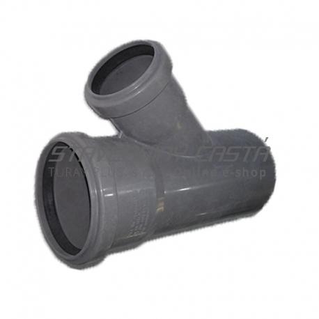 Kanalizačná odbočka 110/75/45° HT PP odpad