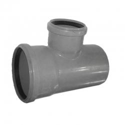 Kanalizačná odbočka 110/75/87° HT PP odpad