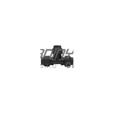 T-kus PP 25x25x25 na hadicu čiernu (rozvodnú)