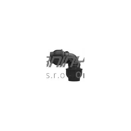 Koleno PP 32x32 na hadicu čiernu (rozvodnú)