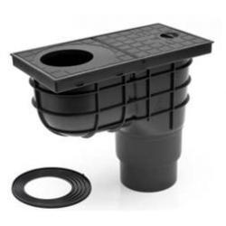 Kanalizačný lapač lístia so spodným vyústením pr. 110/125