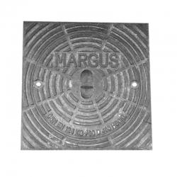 Kanalizačný poklop 400 D400kN štvorcový liatinový