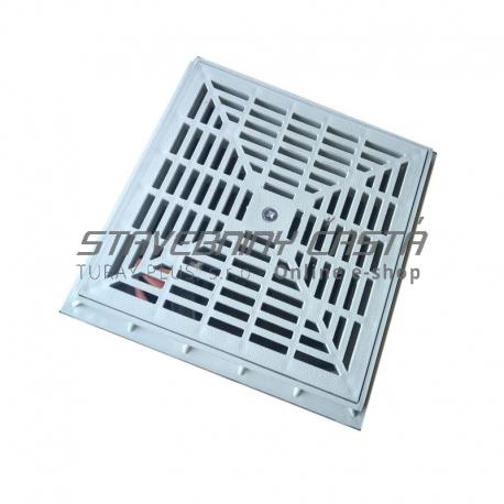 Kanalizačný rám pre rošt 300x300x40 mm plastová - set