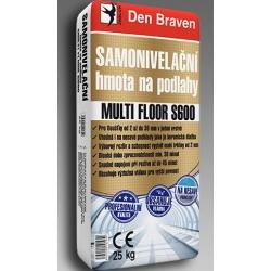 Samonivelizačná hmota na podlahy MULTI FLOOR S600 25kg Den Braven