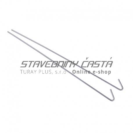 Drôt s hákom 125mm