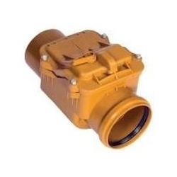 Kanalizačná spätná klapka PVC priebežná DN 125