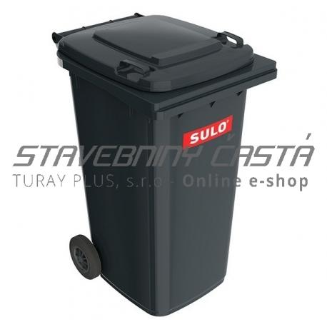 Smetná nádoba - popolnica SULO 240 l - čierna