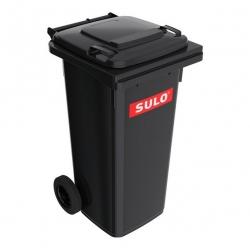 Smetná nádoba - popolnica SULO 120 l - čierna